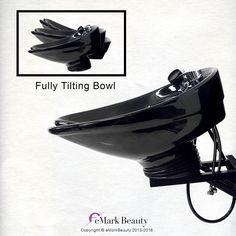 Salon Shampoo Bowl CERAMIC Tilting Wall Mounted Beauty Salon Sink TLC-B07WT #BeautySalonShampooBowl