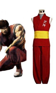 Street Fighter Zero Guy Halloween Costumes Cosplay