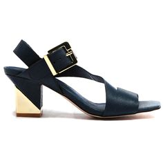 Terri by Top End. #topendshoes #cinorishoes #cinori #midheel #gold #buckle #blockheel #races #comfortableshoes #comfort #timeless #style #fashion #shoes #navy Shoe Brands, Summer 2014, Comfortable Shoes, Block Heels, Night Out, Style Fashion, Fashion Shoes, Navy, Clothes
