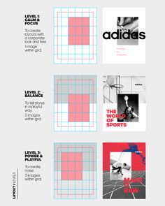 New Logo and Identity for Adidas by EIGA