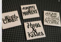Custom Tile Coasters