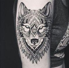 Wolve tattoo