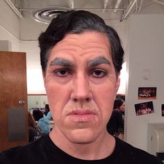Awesome stage makeup! Click for more. #makeup #beauty #theater