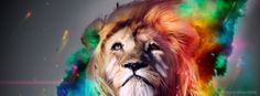 Colorful Lion Artistic Wall Art Painting The Picture Print On Canvas Animal Pictures For Home Decor Decoration Gift *** Visit the image link more details. (This is an affiliate link) Lion Hd Wallpaper, Cool Wallpaper, Trippy Wallpaper, Animal Wallpaper, Mobile Wallpaper, Hipster Wallpaper, Colorful Wallpaper, Nature Wallpaper, Wallpaper Ideas