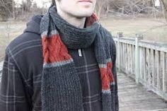 """Résultat de recherche d'images pour """"tricoter écharpe homme"""""""