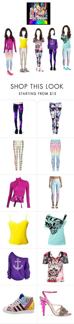 """YG THROWBACK; 2NE1+ GOLD+VIBE$+BIGBANG+DIVAS SENSATION - Lollipop"" by ygentertaiment on Polyvore featuring Pilot, WithChic, STELLA McCARTNEY, Karl Lagerfeld, Nanette Lepore, Versus, Alexander McQueen, adidas, Gucci and Valentino"