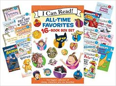 Amazon.com: I Can Read All-Time Favorites 16-Book Box Set (9780062352194): Various, Jan Berenstain, Alyssa Satin Capucilli, James Dean, Kevin Henkes, Syd Hoff, Victoria Kann, Nurit Karlin, Arnold Lobel, Mercer Mayer, Jane O'Connor, Herman Parish, Peggy Parish, John Sazaklis, Rob Scotton, Michael Teitelbaum: Books