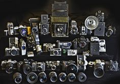Try not to drool as you view Redditor Hallbuzz's stunning personal collection of 32 cameras that span exactly 93 years of technology.