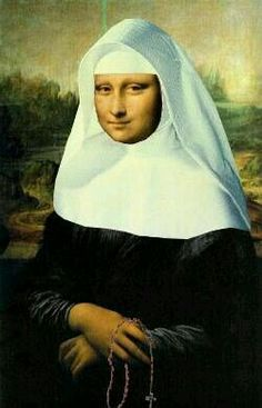 Mona Lisa : More Pins Like This At : FOSTERGINGER @ Pinterest.