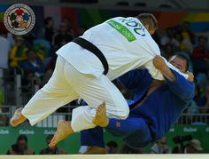 Tangriev is rolling back the years in Rio! He beats Natea of Romania on his way to the Olympic semi final... He is one of only a few men to have beaten Riner...   #Judo | #JudoRio2016 | #MoreThanASport © IJF Media Team - Jack Willingham