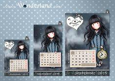 Lucy-Wonderland free printable #gorjuss for #september :) made by @lucywonderland