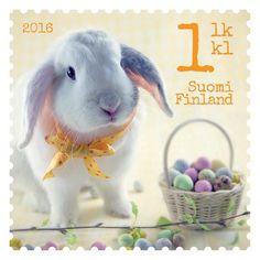 Postin verkkokauppa 1. lk:n postimerkit Pääsiäispupu 1.lk postimerkki