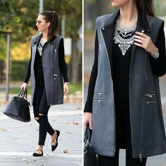 """""""New outfit post on the blog  #fashion #streetstyle #autumn #fall #statementnecklace #outfit"""""""