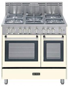 "Amazon.com: Verona VEFSGG365DAW 36"" White Gas Sealed Burner Double Oven Range - Convection: Appliances"