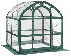 Flower House FHSP300CL SpringHouse Greenhouse Clear https://ledgrowlightsusa.info/flower-house-fhsp300cl-springhouse-greenhouse-clear/