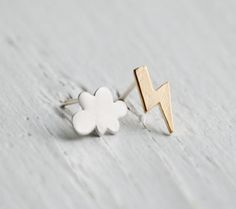 Thunder & Lightening Earrings