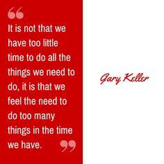Gary Keller quote