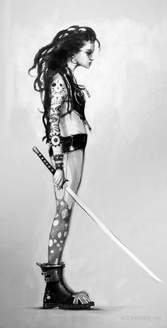 sekigan:  Krystal Śmierć さんの Cyber / Mech Art ボードのピン | Pinterest