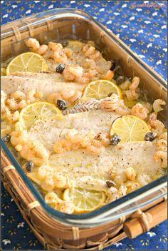 Sweet my Kitchen: Filetes de pescada com camarão