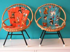 Vintage Cane Children's Chair, design by Rohe, Netherlands via Etsy. Nursery Furniture, Kids Furniture, Folk, Danish Furniture, Chair Makeover, Kids Zone, Kid Spaces, Beautiful Bedrooms, Hobbies And Crafts