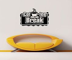 Wall Decal Vinyl Sticker Coffee Break Cup Smell Morning Signboard Lettering V121 CreativeWallDecals http://www.amazon.com/dp/B00V5QNWO4/ref=cm_sw_r_pi_dp_AaYevb0GBGWNV