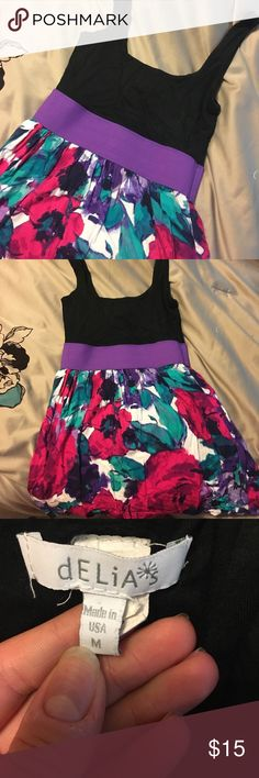 Delia's summer dress. It's super comfy, light weight. Stretchy, if you want more pictures just ask. It's perfect for the wedding season Delia's Dresses Midi