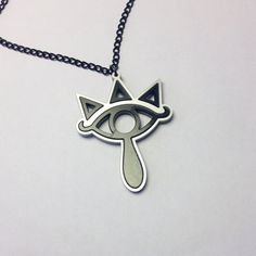 Legends Of Zelda Sheik Symbol Pendant by ImmaCuttinWithLazah