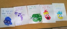 Inside out characters. Valentine book with feelings
