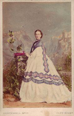 Princess Alexandra carte de visite by Southwell Brothers