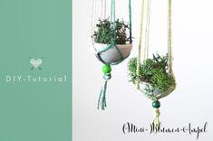 Makramee-Blumenampel DIY | Hochzeitsblog marryMAG| Der Hochzeitsblog