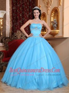 Wanna to buy the cheap quinceanera dresses 2014 now? Quinceanera dresses 2014 are on sale at quinceaneradresscity. We are a quinceanera dresses manufacturer, offers two piece removable skirt quinceanera dresses. Sweet Sixteen Dresses, Sweet 15 Dresses, Dresses Elegant, Cheap Dresses, Beautiful Dresses, Gorgeous Dress, Blue Ball Gowns, Ball Gown Dresses, Prom Dresses