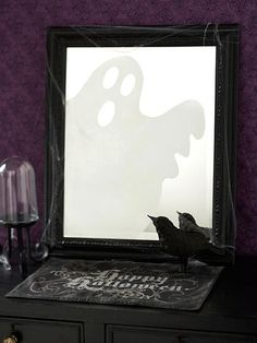 Ghostly reflection halloween decorations