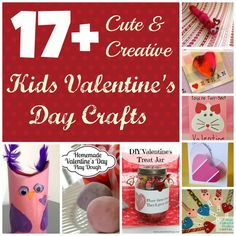 17+ Cute and Creative Kids Valentine's Day Crafts