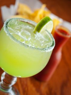 Frozen Jalapeno Margaritas! Sweet, spicy, and icy. TGIF!