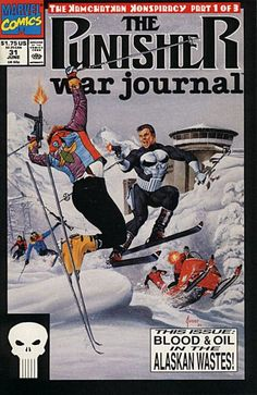 Punisher War Journal # 31 by Joe Jusko