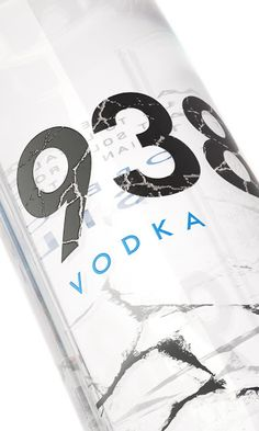 938 Vodka (Concept) on Packaging of the World - Creative Package Design Gallery