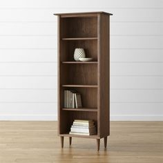 shop crate and barrel for stylish quality bookcases to display your books browse a baumhaus mobel solid oak reversible