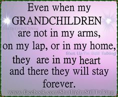 Miss and love all my grandchildren...