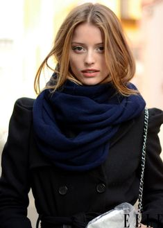 Women Fashion Warm Sided Flat Solid Color Knitted Cotton Scarf Shawl Wrap