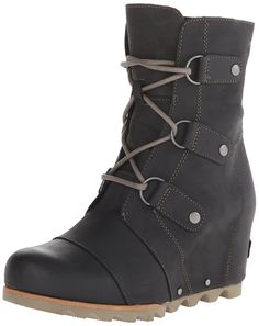 Sorel Women's Joan of Arctic Wedge Booties -- Find out more details by clicking the image : Ankle Boots