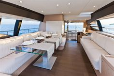 Internal view Ferretti Yachts - Ferretti 620 #yacht #luxury #ferretti