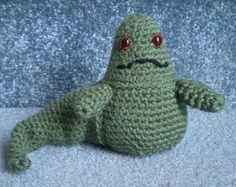 PDF File -  Crochet Pattern Star Wars Jabba the Hut Amigurumi Doll