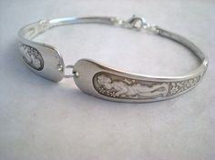 Upcycled Antique spoon bracelet