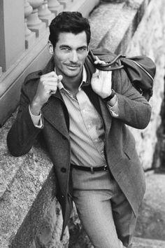 Goddamn it, #DavidGandy, stop being so flipping handsome! #meow
