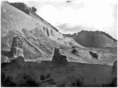 Heraklion - Εργασίες από την κατεδάφιση του επίπεδου προμαχώνα του Αγίου Φραγκίσκου