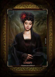 * Oriental Mona Lisa  by ~Hiliuyun *