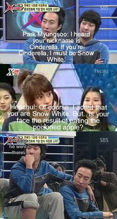 You just got burned son! Don't mess with Kim Heechul, or you will get burned! XD