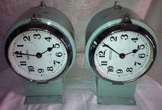 Rare Vintage Marine Two Side Citizen Clock #CITIZEN