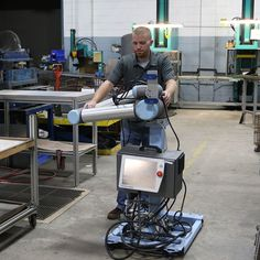 A mobile fleet of #Universal Robots now receives daily work orders to solve ever-changing tasks with high mix - low volume electronics manufacturer Scott Fetzer Electrical Group (SFEG) in Tennessee. The #collaborative #robots have optimized production by 20 percent