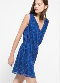 Snake print dress - Dresses for Women | OUTLET